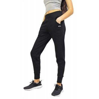 Черни тесни спортни панталони