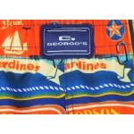 Мъжки шорти за плуване - щампа консерви сардина