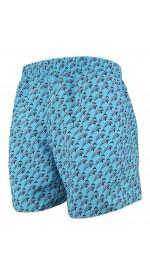 Мъжки шорти за плуване - щампа сини делфини