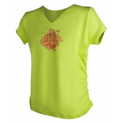 Тениска за момиче Green