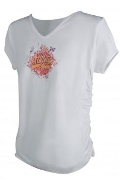 Тениска за момиче White