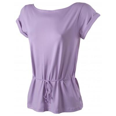 Виолетова дамска блуза