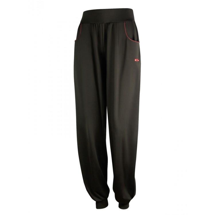 Кафяв панталон с джобове
