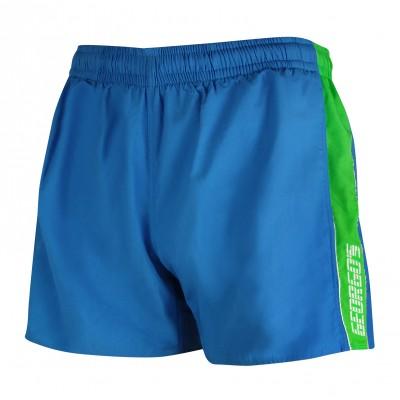 Мъжки шорти - сини със зелено